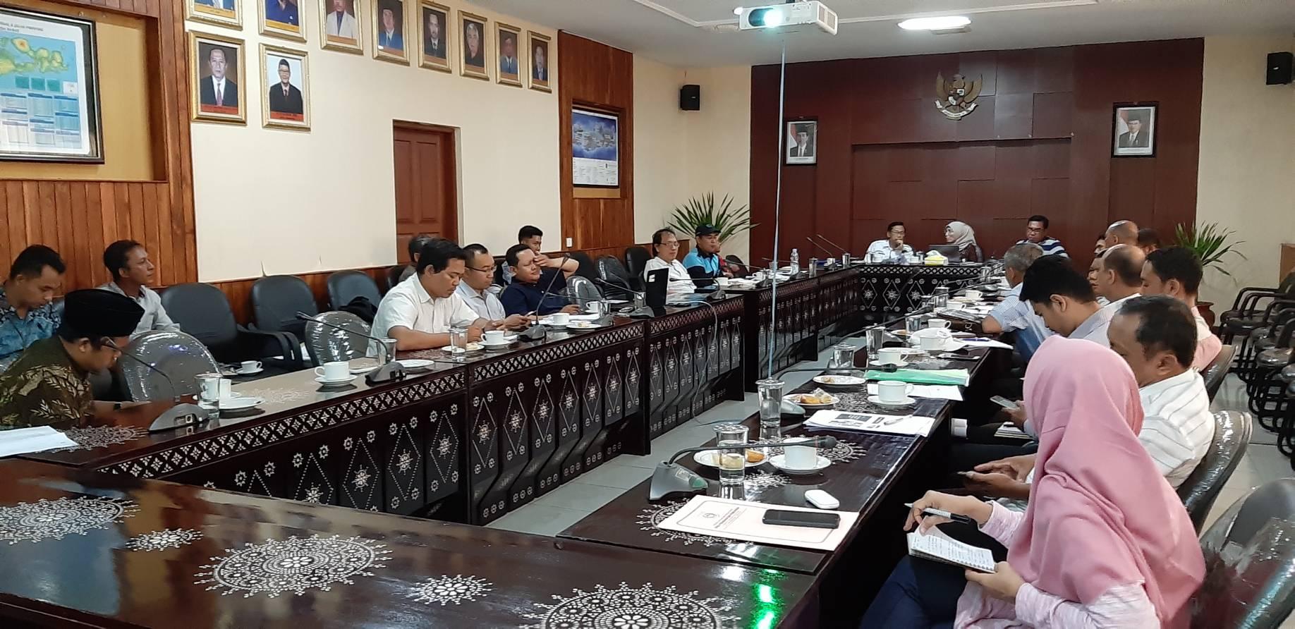 Koordinasi Persiapan kegiatan Pelaksanaan Kompetensi Keterampilan Konstruksi Indonesia