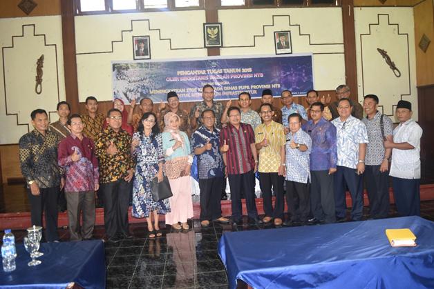 Pengantar Tugas Tahun 2018 oleh Sekda Provinsi NTB