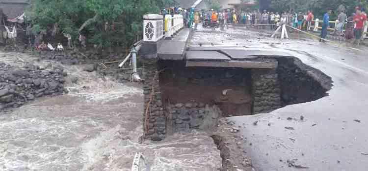 Banjir Di Kabupaten Lombok Timur dan Kabupaten Sumbawa, Sejumlah Infrastruktur Mengalami Kerusakan