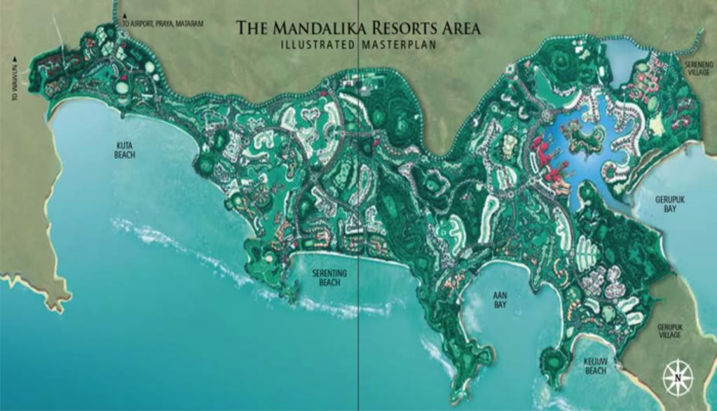 Rencana Deliniasi Kawasan Sekitar Kawasan Ekonomi Khusus (KEK) Mandalika Kabupaten Lombok Tengah