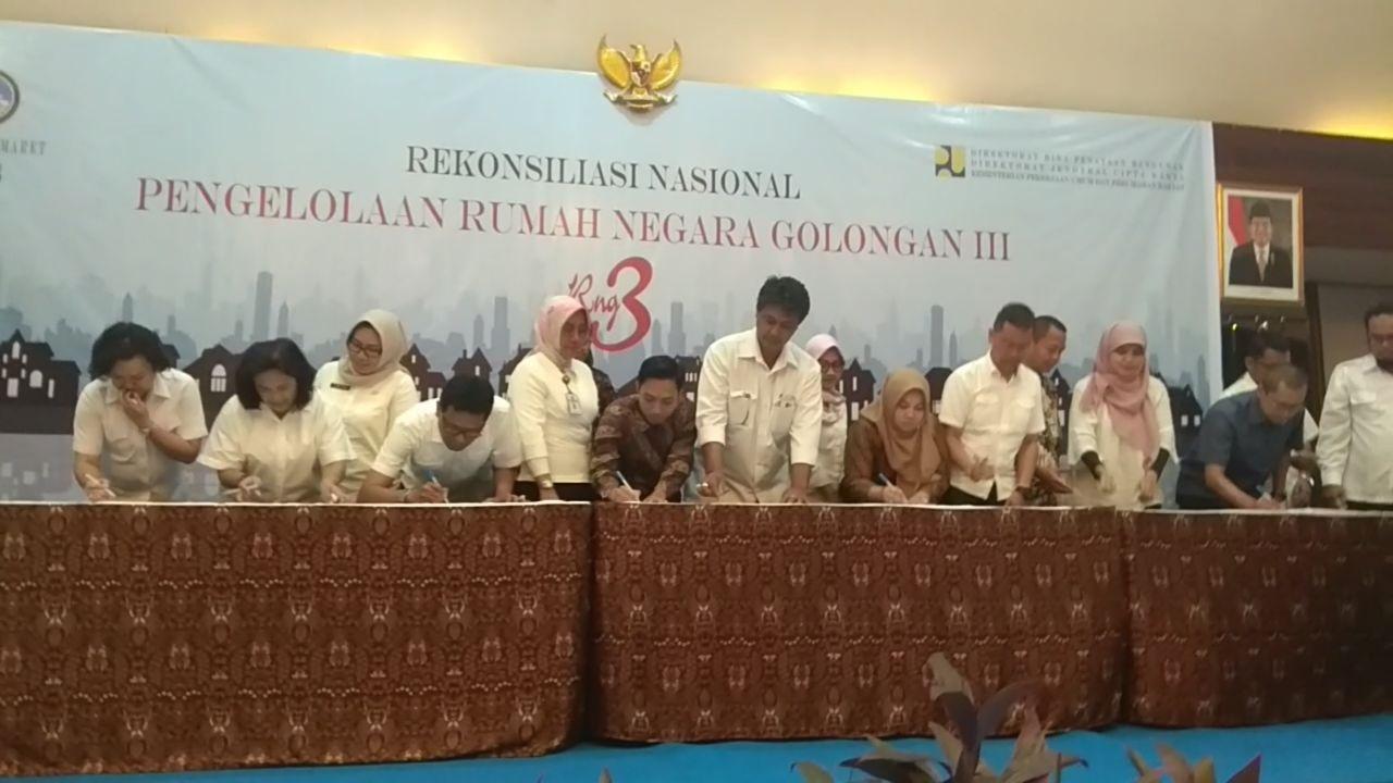 Direktorat Jenderal Cipta Karya Gelar Rekonsiliasi Nasional Pengelolaan Rumah Negara Golongan III