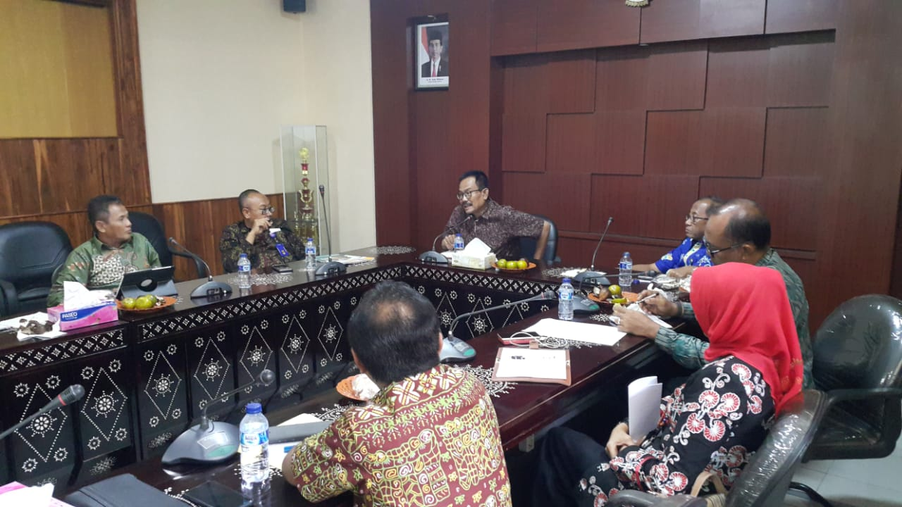 Rapat Koordinasi Lingkup Asisten Perekonomian dan Pembangunan Setda Prov NTB terkait Penyusunan Calendar of Event OPD