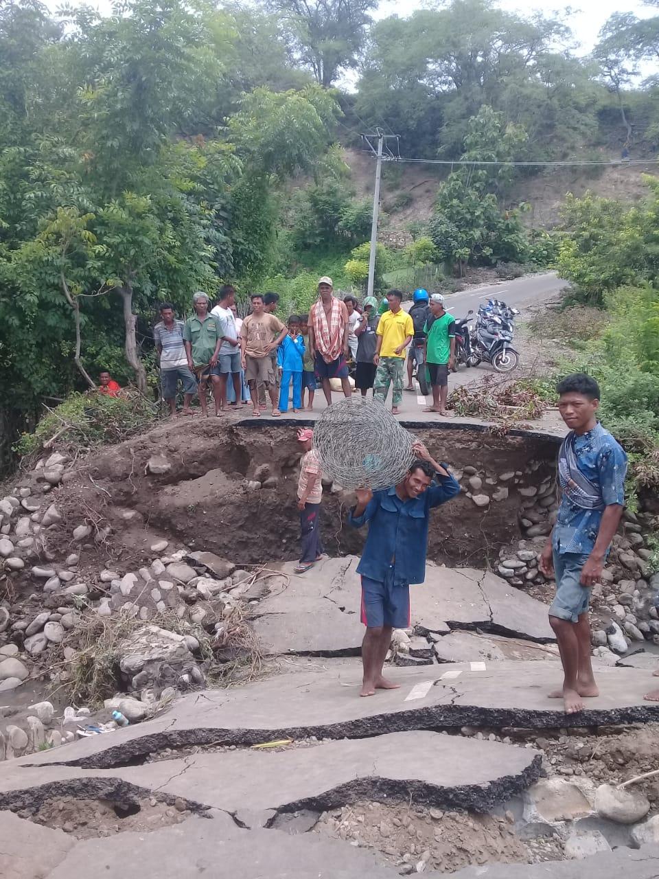 Jalan Provinsi Putus di Bima, Gubernur NTB Perintahkan Penanganan Secepatnya