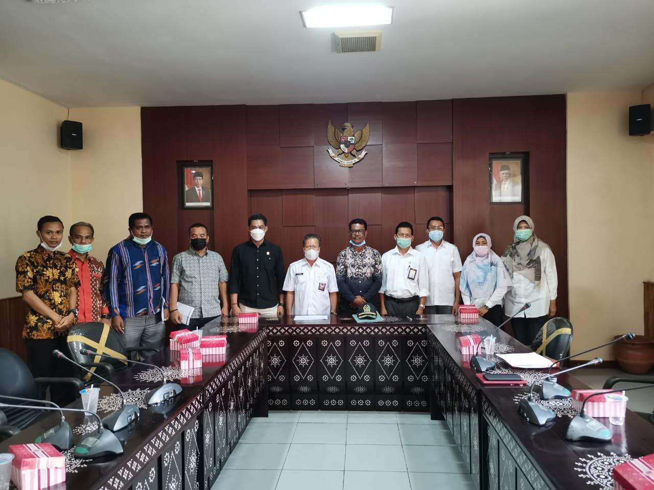 Konsultasi dan Koordinasi DPRD Kabupaten Bima ke Dinas PUPR Provinsi NTB terkait Infrastruktur