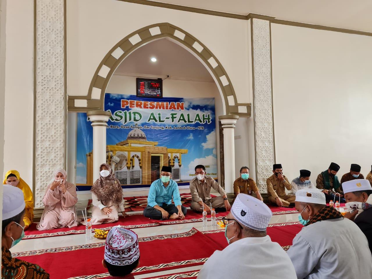 Kunjungan Kerja ke Desa Teniga Tanjung Kabupaten Lombok Utara