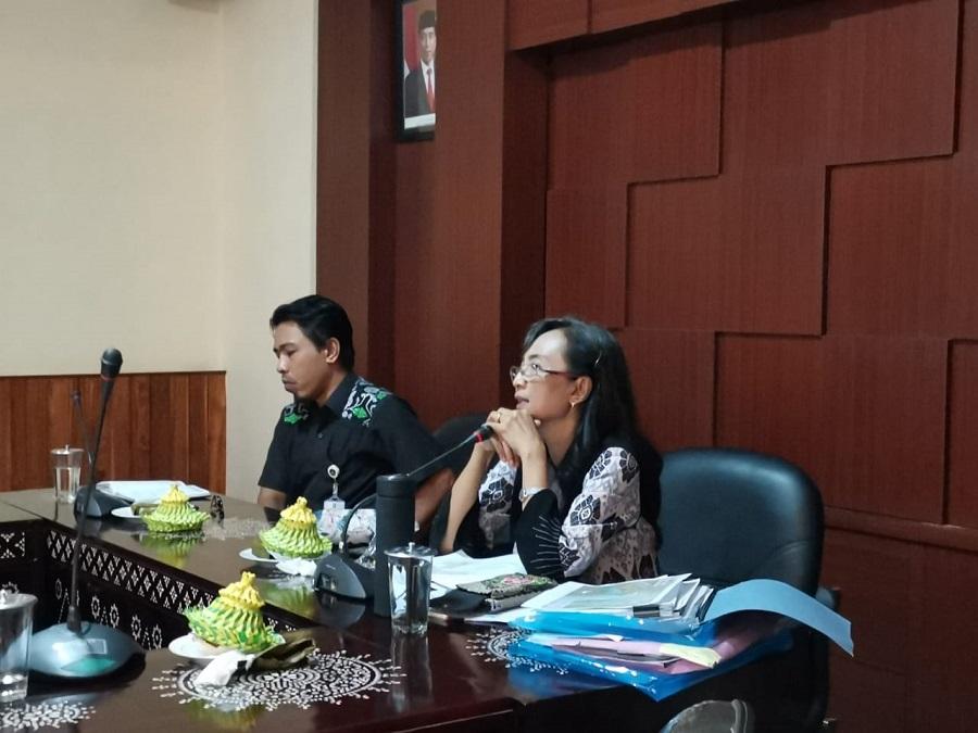 Rapat Pleno Pembahasan Rekomendasi Kesesuaian Tata Ruang dari PT Lombok Sukses Bersama dan CV Asteria Tirta Buana