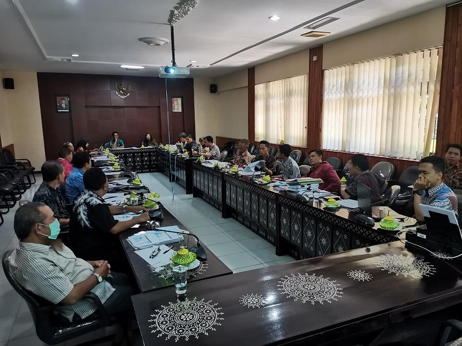 Rapat Pembahasan Penyusunan RDTR dan PZ Kawasan Sekitar KEK Mandalika