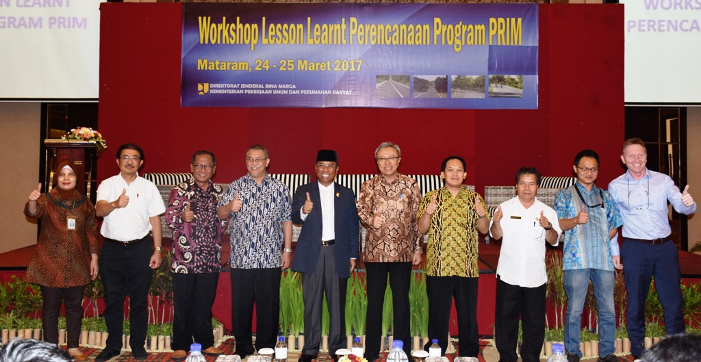 Workshop Lesson Learnt Program PRIM 2017 : Pentingnya Pemenuhan Kebutuhan Infrastruktur Dasar